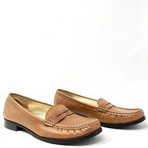 Browns Genuine Leather Brown Penny Loafer Size 8